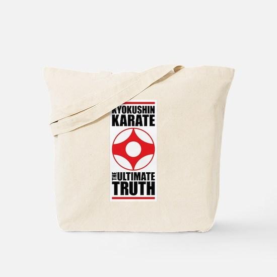Kyokushin karate Tote Bag