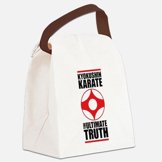 Unique Kyokushin Canvas Lunch Bag