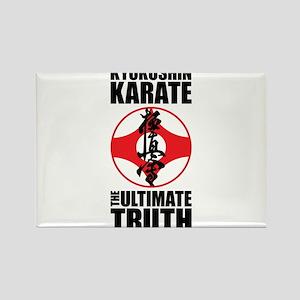 Kyokushin karate 2 Rectangle Magnet