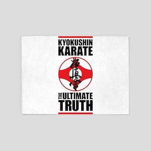 Kyokushin karate 2 5'x7'Area Rug
