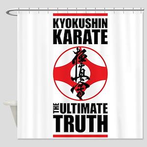 Kyokushin karate 2 Shower Curtain