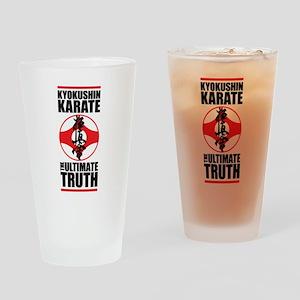 Kyokushin karate 2 Drinking Glass