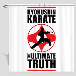 Kyokushin karate 3 Shower Curtain