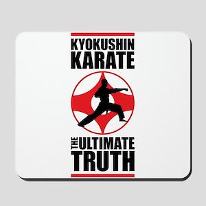 Kyokushin karate 3 Mousepad