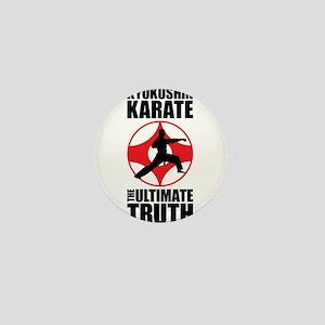 Kyokushin karate 3 Mini Button