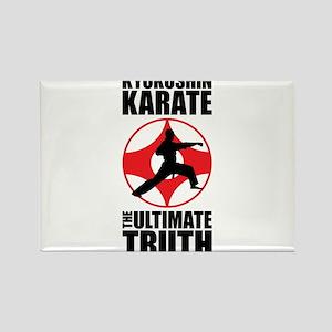 Kyokushin karate 3 Rectangle Magnet