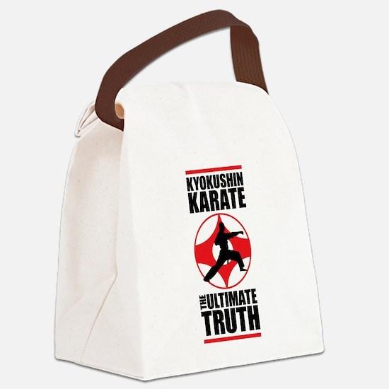 Kyokushin karate 3 Canvas Lunch Bag