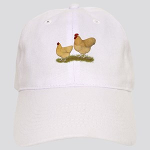 Orpington Lemon Cuckoo Chickens Baseball Cap