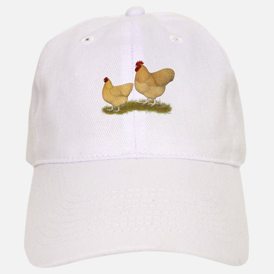 Orpington Lemon Cuckoo Chickens Baseball Cap