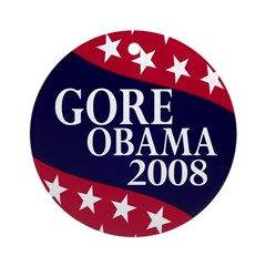 Gore-Obama 2008 Xmas Ornament