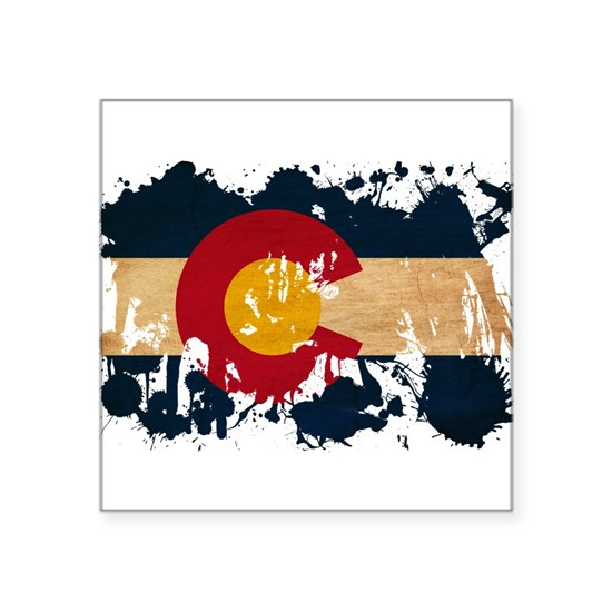 Colorado textured splatter copy