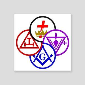 York Rite Pinwheel Sticker