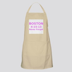 Boston 4-15-13 Never Forget Apron