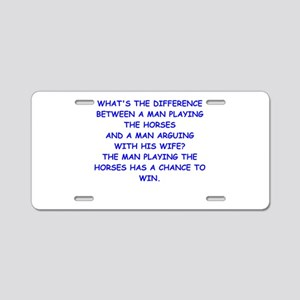 HORSES Aluminum License Plate
