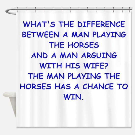 HORSES Shower Curtain
