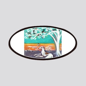 Greyhound spiritual tree Patches