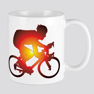 Sunset Bicycle Rider Mug