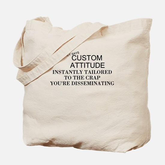 Cute Temperaments Tote Bag