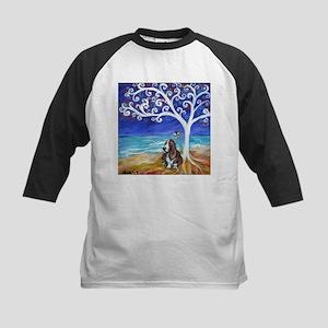 Basset Hound Spiritual Tree Baseball Jersey