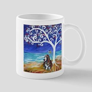 Basset Hound Spiritual Tree Mug