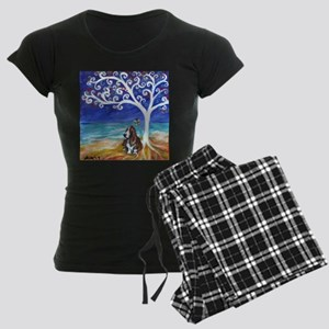 Basset Hound Spiritual Tree Pajamas