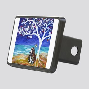Basset Hound Spiritual Tree Hitch Cover