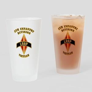 SOF - 5th ID - LRRP - Vietman Drinking Glass
