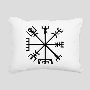 Aegishjàlmr, Helm of Awe Rectangular Canvas Pillow