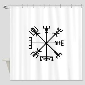 Aegishjàlmr, Helm of Awe Shower Curtain