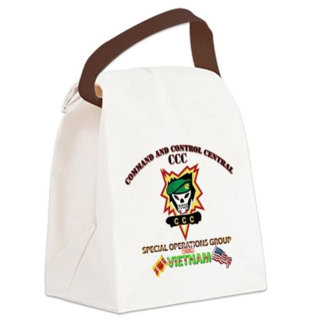 SOG - Command and Control Central Canvas Lunch Bag