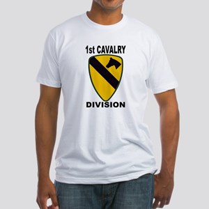 1ST CAVALRY DIVISION Fitted T-Shirt
