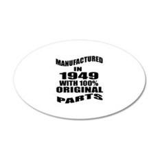 Manufactured in 1949 Wall Decal
