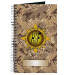 HFPACK Gold Insignia Desert Camo Field Notebook