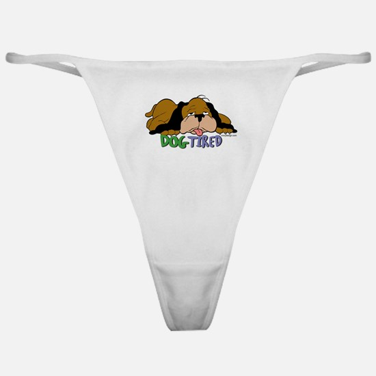 Dog Tired Classic Thong