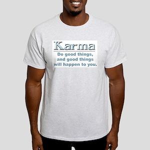 Karma Ash Grey T-Shirt