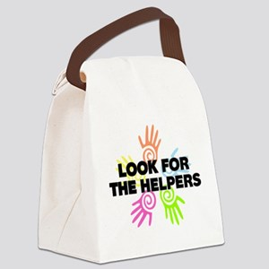 Look For The Helpers Canvas Lunch Bag