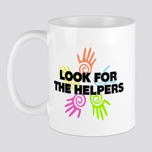 Look For The Helpers Mug