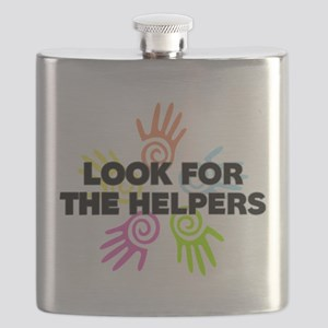 Look For The Helpers Flask