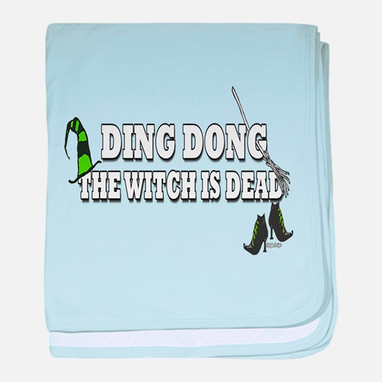 Ding Dong the Witch is Dead baby blanket