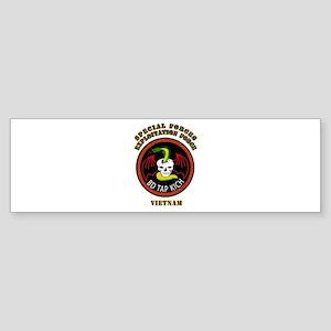 SOF - SF Exploitation Force - Vietnam Sticker (Bum