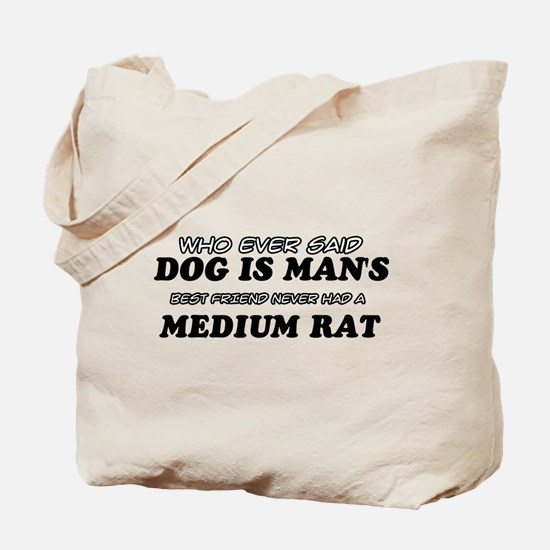 Medium Rat pet designs Tote Bag