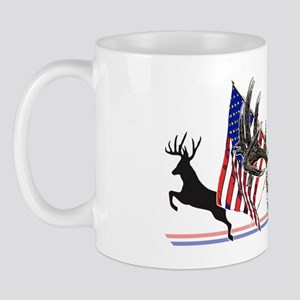 Patriotic buck Mug