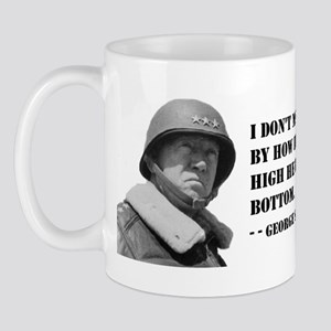 General George Patton on Measuring Success Mug