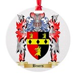 Broers Round Ornament
