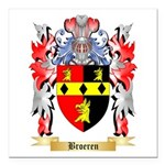 Broeren Square Car Magnet 3