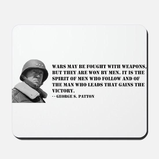 George Patton on Spirit Mousepad