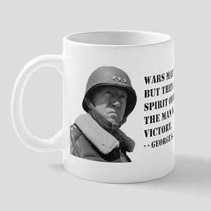 George Patton on Spirit Mug