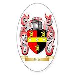 Broe Sticker (Oval)