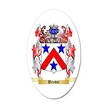 Brodie 20x12 Oval Wall Decal