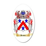 Brodie 35x21 Oval Wall Decal